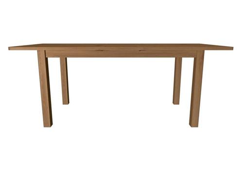 EMINENCE RECTANGULAR EXTENSION OAK DINING TABLE (18-1-15) - 780(H) X 1600(L)-   RUSTIC OAK