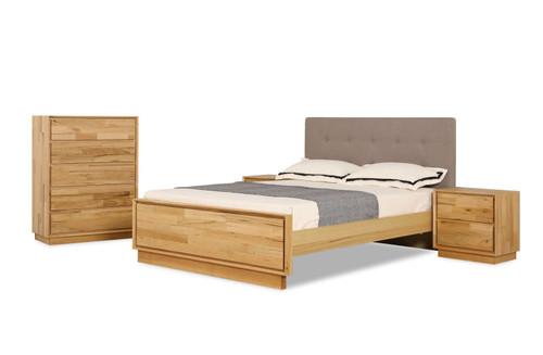 ALESSIA QUEEN 4 PIECE BEDSIDE BEDROOM SUITE