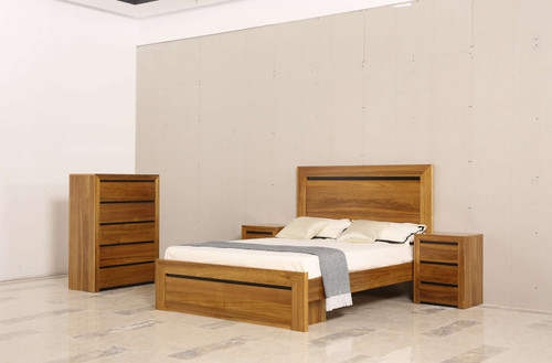 ALABAMA QUEEN 4 PIECE TALLBOY BEDROOM SUITE