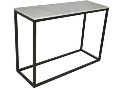 BEACON  MARBLE TOP  CONSOLE / HALLWAY  TABLE -  780(H) X 1100(W) - BLACK