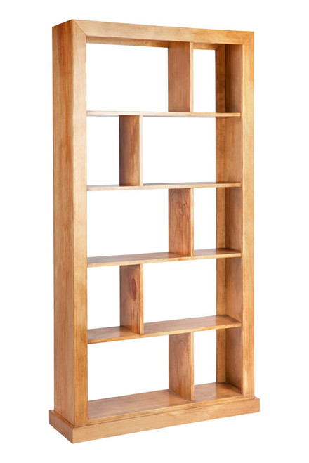 DERBY 10 BOX BOOKCASE / ROOM DIVIDER - 2000(H) x 1000(W) - ASSORTED COLOURS