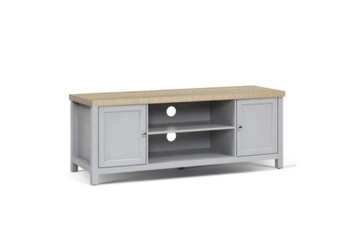 COUNTRY  2 DOOR TV ENTERTAINMENT UNIT - 2 TONE
