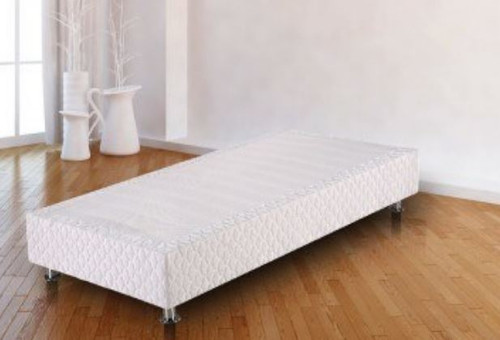 SINGLE VINCENTE FABRIC UPHOLSTERED ENSEMBLE   BASE ONLY - COLOR AS PICTURED