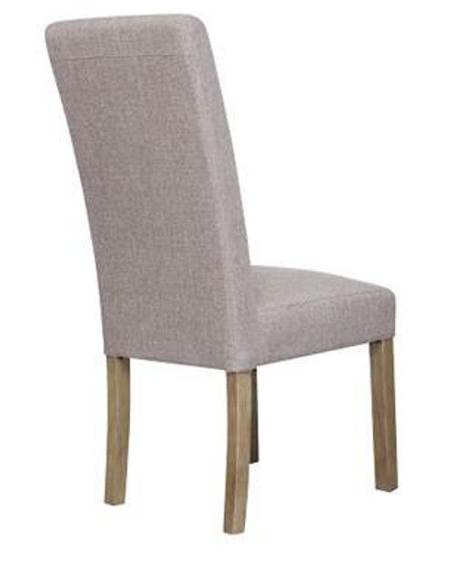 COOPENGHAM   FABRIC UPHOLSTERED DINING CHAIR    (7-1-15) - BRISTLE