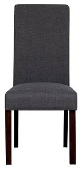 COOPENGHAM   FABRIC UPHOLSTERED DINING CHAIR  - GRAPHITE