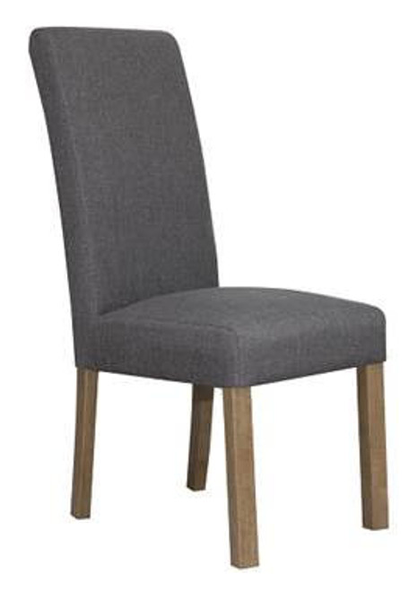 COOPENGHAM   FABRIC UPHOLSTERED DINING CHAIR  -STONE