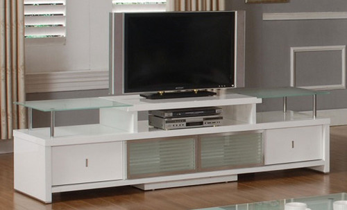 DIXON  TV ENTERTAINMENT UNIT -570(H) x 2120(W) -  WHITE FROST OR BLACK TINT