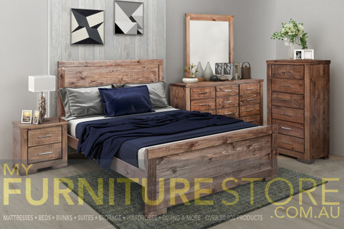 RUSTICED BEDROOM COLLECTION - RUSTIC starting at
