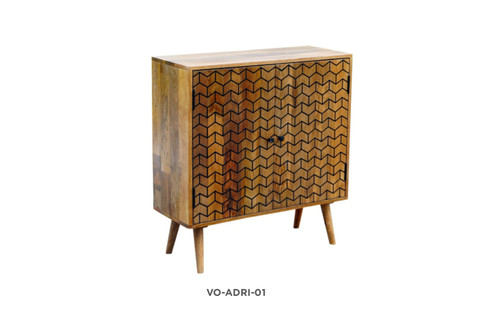 ADRIA SIDEBOARD/BUFFET WITH 2 DOORS - NATURAL