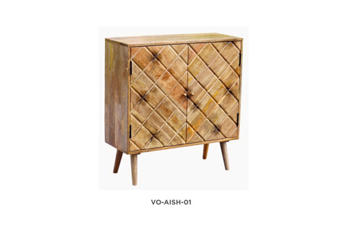 AISHA SIDEBOARD/BUFFET WITH 2 DOORS  - NATURAL