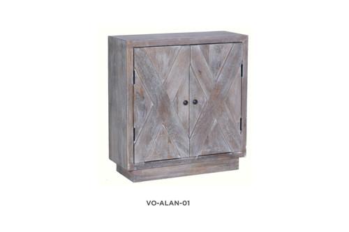ALANI SIDEBOARD/BUFFET WITH 2 DOORS - WHITEWASH