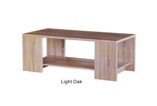 PERFECTION COFFEE TABLE WITH MAGAZINE RACK (MODEL:37192) - 1200(W) X 600(D) - OAK FINISH