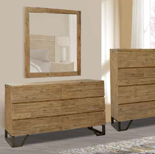 CORTES DRESSING TABLE WITH MIRROR - COYOTE