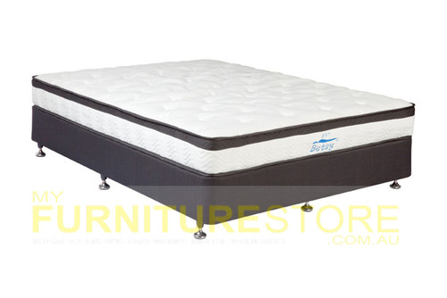DOUBLE BETSY (CL05/MODEL:21) POCKET SPRING TIGHT TOP BACK POSTURE ENSEMBLE (MATTRESS & LINEN BASE) - EXTRA FIRM