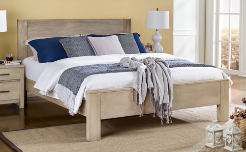 DOUBLE MICHIGAN TIMBER BED - AS PICTURED