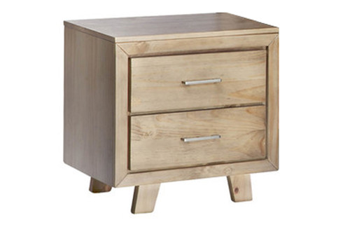 CARNIVAL BEDSIDE TABLE- BRUSHED GREYWASH
