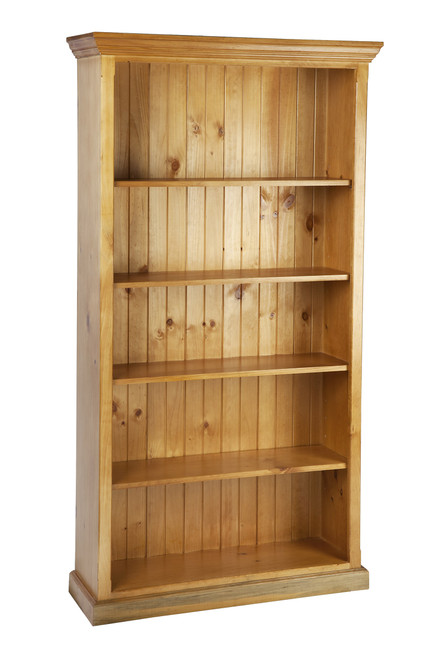 ANTALYA COLONIAL (3x5) BOOKCASE WITH T-BAR (NOT AS PICTURED) - 900(H) x 1500(W) x 240(D) - ASSORTED COLOURS