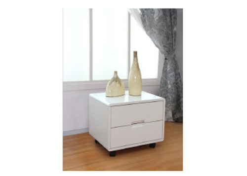 DONAVON LEATHERETTE BEDSIDE TABLE (MODEL:02#) - ASSORTED COLOURS