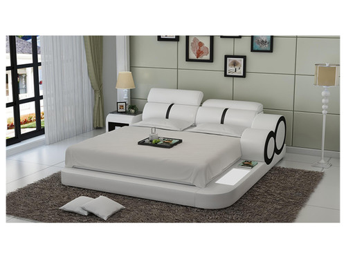 KING VALIR LEATHERETTE BED (MODEL:A615) - ASSORTED COLORS