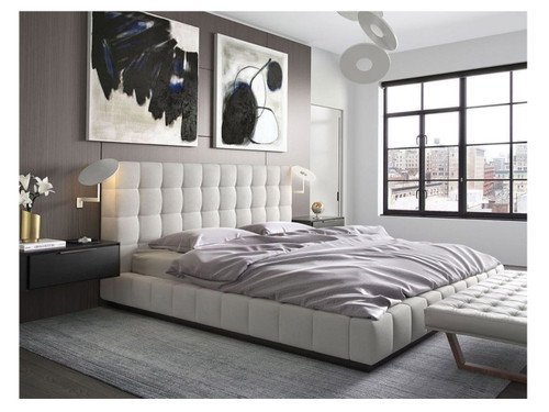 KING VALE LEATHERETTE BED (MODEL:A620) - ASSORTED COLORS