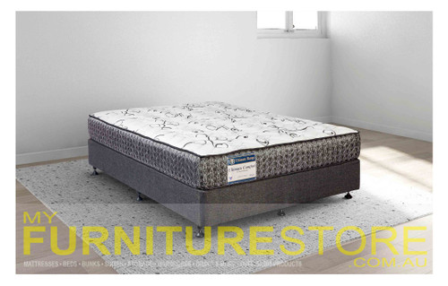 DOUBLE ULTIMATE COMFORT GEL INFUSED VISCO ENSEMBLE (MATTRESS & BASE) WITH SERIES 1 BASE - SUPER FIRM