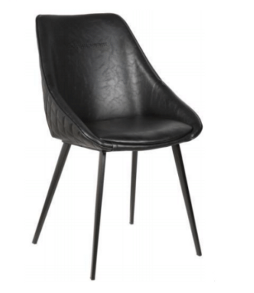 BELLAGIO LEATHERETTE DINING CHAIR - VB