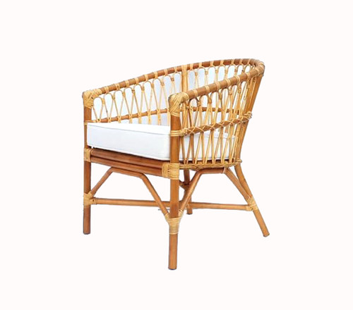 ARENA CHAIR WITH CUSHION - NATURAL