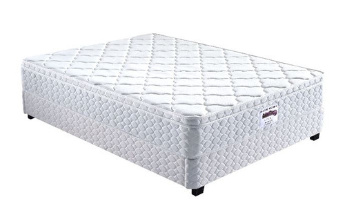 DOUBLE  FIVE ZONE LATEX SINGLE SIDED EUROTOP WITH POCKET SPRING  MATTRESS  - MEDIUM FIRM