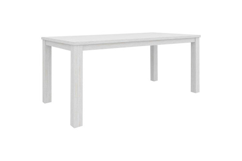 CLEMENTI DINING TABLE 1800(L) X 900(W) - BRUSHED WHITE
