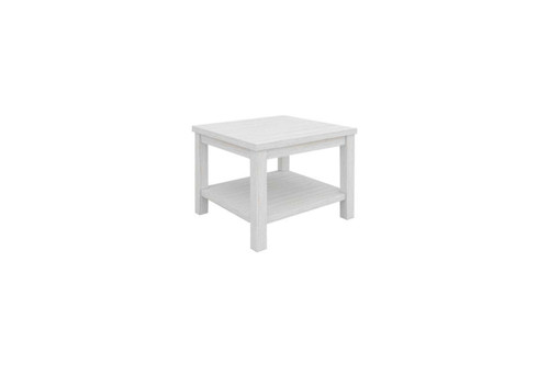 CLEMENTI LAMP TABLE (KD) - BRUSHED WHITE