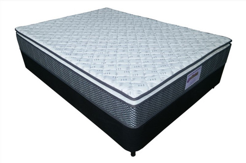 DOUBLE SHILOH SINGLE  SIDED PILLOWTOP WITH POCKET SPRING MATTRESS  - MEDIUM FIRM