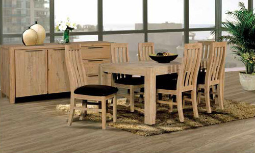 BALLINA DINING TABLE ONLY - EURO BEECH