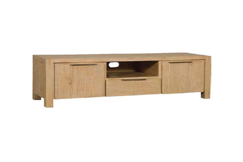 BALLINA TV UNIT (MEDIUM WITH HANDLES) - EURO BEECH