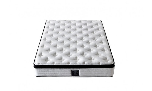 DOUBLE LATEX REST SPRING QUEEN MATTRESS WITH PILLOW TOP (MT-51) - PLUSH