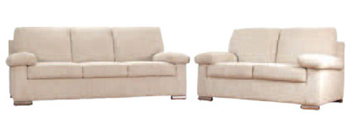 TORONTO 3 SEATER + 2 SEATER FABRIC LOUNGE - ASSORTED COLOURS