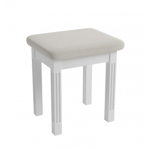 ALTAIR DRESSING TABLE STOOL ONLY - WHITE