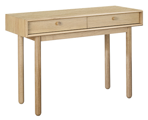 ADIOLA  2 DRAWER DRESSING TABLE -OAK