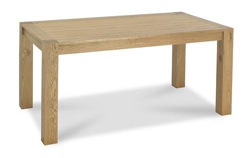 AERGLO FIXED DINING TABLE (L1650) - LIGHT OAK