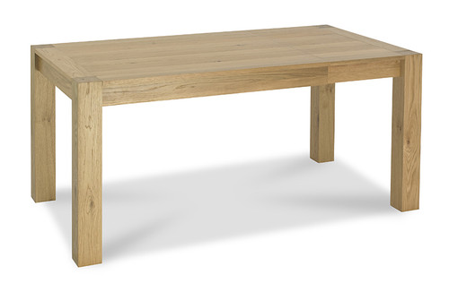 AERGLO SMALL END EXTENSION DINING TABLE - LIGHT OAK