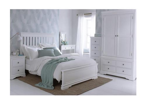 DOUBLE INVIGORATE (MODEL:SW-46-W) BED  - WHITE