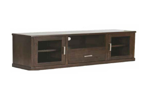 QUEENSTOWN LARGE TV UNIT - 580(H) x 1850(W) x 470(D) - MOCHA
