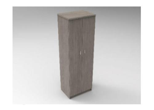AUGUSTIN (MODEL:PRMHR600) 2 DOOR ROBE WITH HAT SHELF - 1800(H) x 600(W) - LICORICE , SMOKE , OAK , WHITE