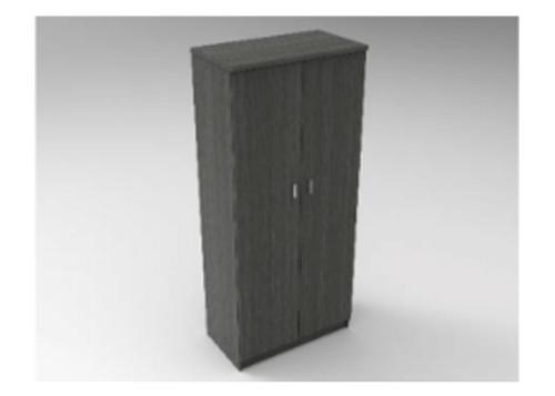AUGUSTIN (MODEL:PRMHR900) 2 DOOR ROBE WITH HAT SHELF -  1800(H) x 900(W) - LICORICE , SMOKE , OAK , WHITE