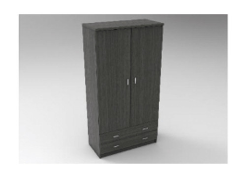 AUGUSTIN (MODEL:PRM902R) 2 DOOR / 2 DRAWER ROBE - 1800(H) x 900(W) - LICORICE , SMOKE , OAK , WHITE