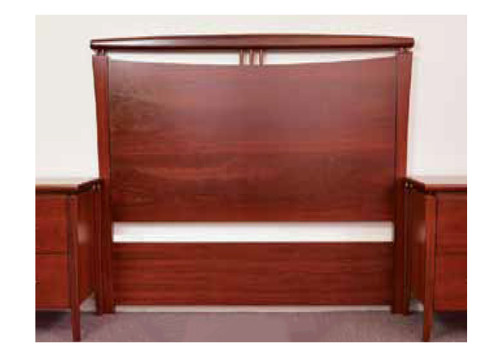 DOUBLE OR QUEEN CLANTON BEDHEAD ONLY -1190(H) x 1710(W) - JARRAH
