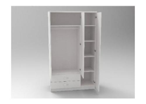 AUGUSTIN (MODEL:PRMC1050R) 3 DOOR / 2 DRAWER COMBO ROBE - 1800(H) x 1050(W) - LICORICE , SMOKE , OAK , WHITE