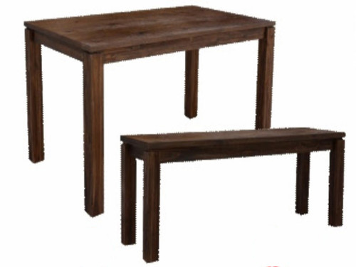 ARCHENAR DINING TABLE (MODEL: VH-ASAH-11) - DARK EARTH