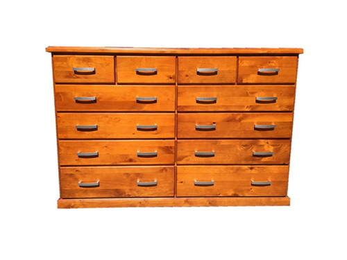 DENVER 12 DEEP DRAWERS TALLBOY - AS PICTURED