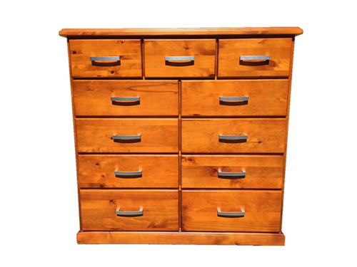 DENVER 11 DEEP DRAWERS TALLBOY - AS PICTURED