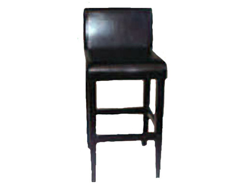1005 BY CAST LEATHER BAR STOOL - BROWN